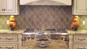 New Ravenna Djinn Limestone Backsplash