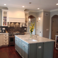 Transitional Kitchen by Patrick A. Finn, Ltd