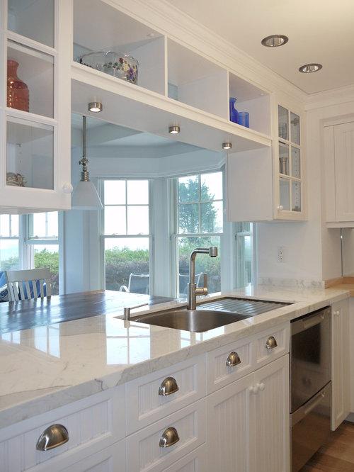 Ideas para cocinas fotos de cocinas cl sicas con - Tamano azulejos cocina ...