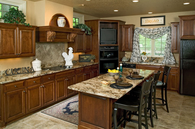 Traditional Kitchen by Bercher Design & Construction