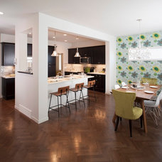 Transitional Kitchen by Sabal Homes