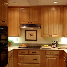 Traditional Kitchen by Kathryn Arnold Design