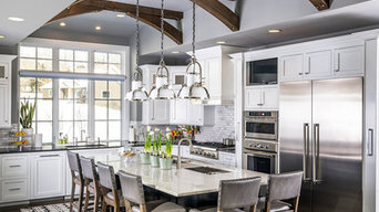 New Traditional with Soaring Ceilings