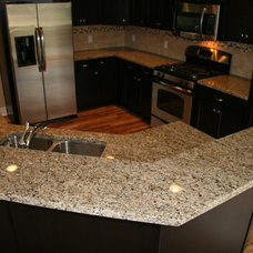 Traditional Kitchen by Stoneway Marble, Granite & Tile