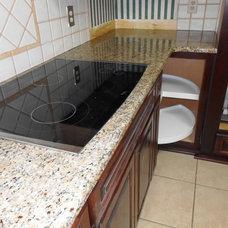 Kitchen by Fireplace & Granite Distributors