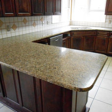 Kitchen by Fireplace & Granite Distributors