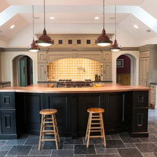 Traditional Kitchen by Mediterranean Tile and Marble