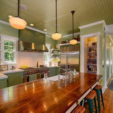 Beach Style Kitchen by LookingGlass Photography