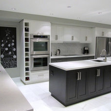 Contemporary Kitchen by NathalieTremblay - Atelier Cachet