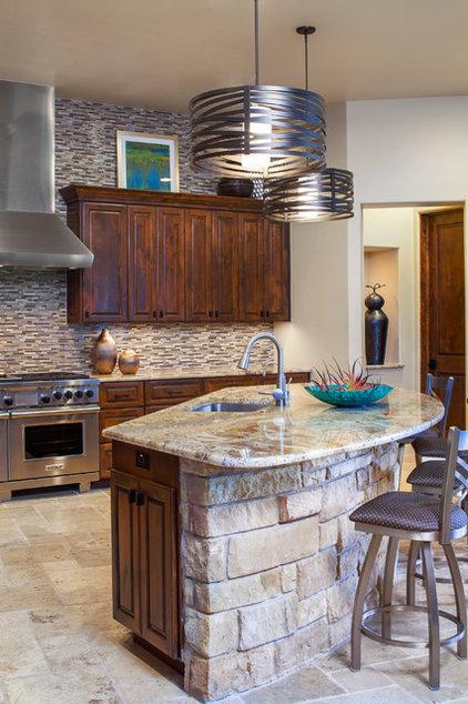 Transitional Kitchen by Dawn Hearn Interior Design