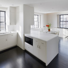 Transitional Kitchen by Harry Elson Architect PC
