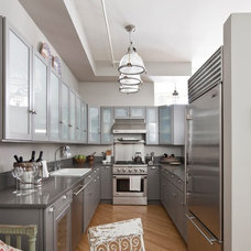 Transitional Kitchen by Deborah French Designs