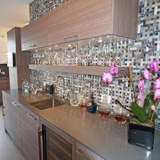 Contemporary Kitchen by Anna Marie Fanelli - Floor & Decor