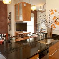 Modern Kitchen by Amy Tyndall Design