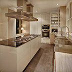 New York Modern - Built by Cottonwood fine kitchen furniture based in Salt Lake City Utah.