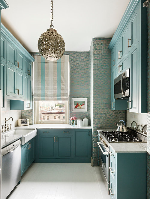 Our Best Small UShaped Kitchen Ideas Remodeling Pictures Houzz - Small u shaped kitchen remodel ideas