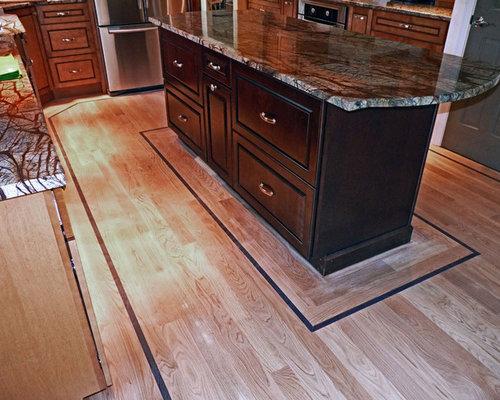 Hardwood Floor Border Home Design Ideas Pictures Remodel