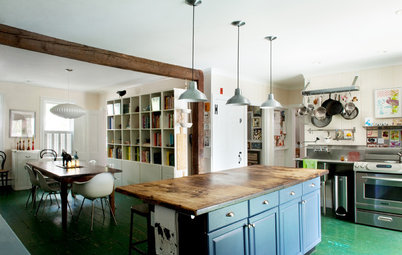 Houzz Tour: Traditional on the Outside, Quirk Appeal Inside