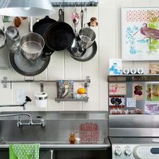 Eclectic Kitchen by Mary Prince Photography