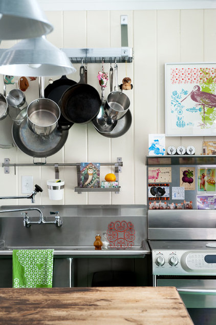 eclectic kitchen by Mary Prince