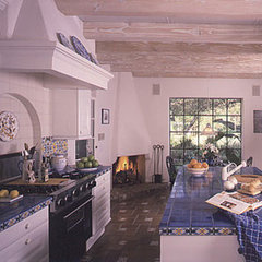 mediterranean kitchen by New Design Studios