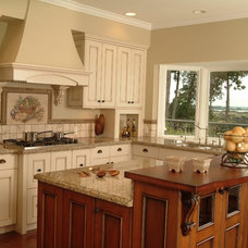 traditional kitchen cabinets by Lonetree Kitchens and Bathrooms