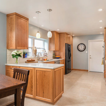 Newly Expanded Kitchen