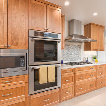 Newly Expanded, Remodeled Kitchen