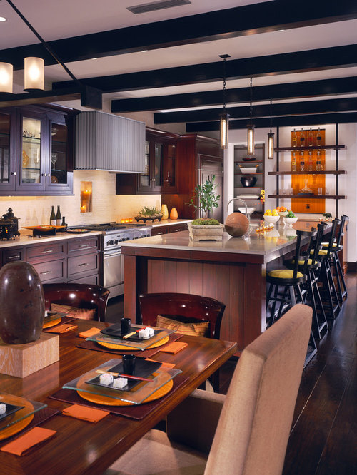 Tropical los angeles kitchen design ideas remodel for Amazing tropical kitchen design
