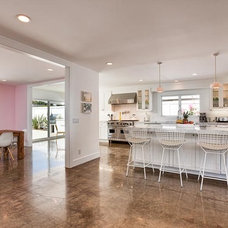 Midcentury Kitchen by Christiano Homes, Inc.