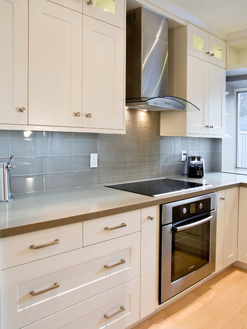 Newport oyster madison slate grey maple for Slate grey kitchen cabinets