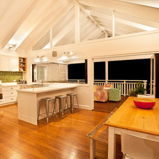 Transitional Kitchen by StepUP Constructions