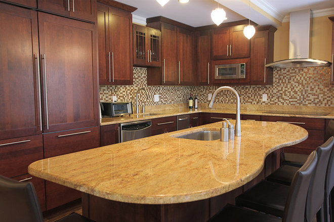 Contemporary Kitchen by Dawn Willis, AKBD- Great Spaces Inc.