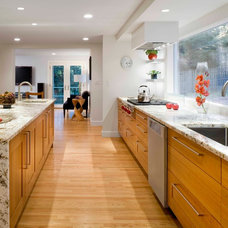 Transitional Kitchen by Michael Kim Assoc