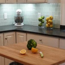 Transitional Kitchen by Vered Rosen Design