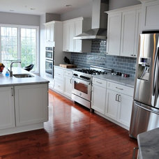Transitional Kitchen by Main Line Kitchen Design
