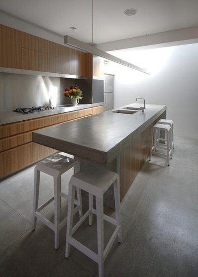 Contemporary Kitchen by Sam Crawford Architects