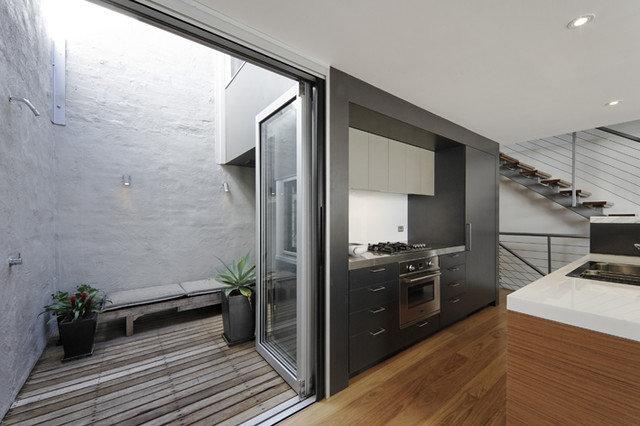 Contemporary Kitchen by Rudolfsson Alliker Associates Architects