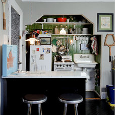 Eclectic Kitchen Niche Design - The New York Times > Home & Garden > Slide Show > Slide 5 of 12