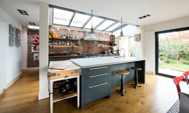 Industrial Kitchen by Terry Design