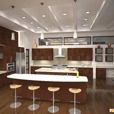 Contemporary Kitchen by JAIME SCARPITTA
