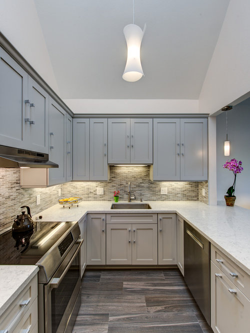 Kitchen design ideas renovations photos with mirror for Kitchen ideas westbourne grove