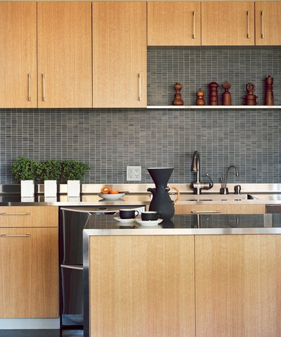 10 great backsplashes to pair with stainless steel counters