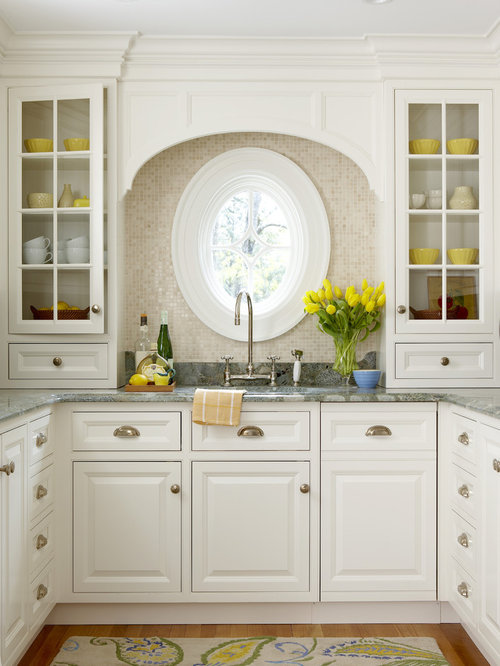Sink without window houzz for Kitchen designs without windows
