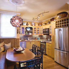 Eclectic Kitchen by Adeeni Design Group