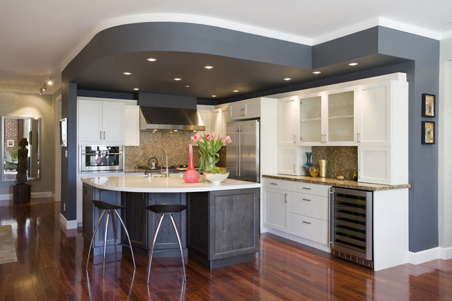 Transitional Kitchen by Brian Dittmar Design, Inc.