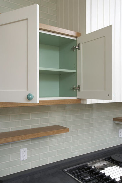 mix and match your kitchen cabinet styles