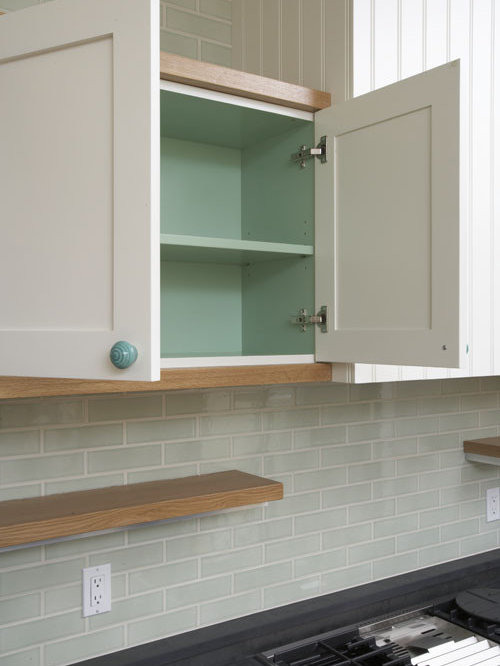 Paint Inside Cabinets Home Design Ideas Pictures Remodel
