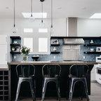 Portland Modern Tudor Kitchen Contemporary Kitchen