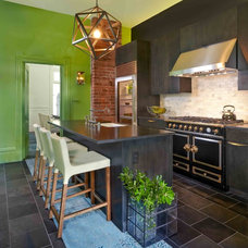 Transitional Kitchen by Susan Diana Harris Interior Design